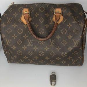 Louis Vuitton Speedy Handbag 35
